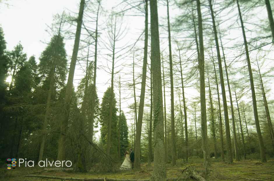 fotografia de postboda con Almudena e Igor en los montes de Bizkaia, Bilbao. Por Pia alvero-61