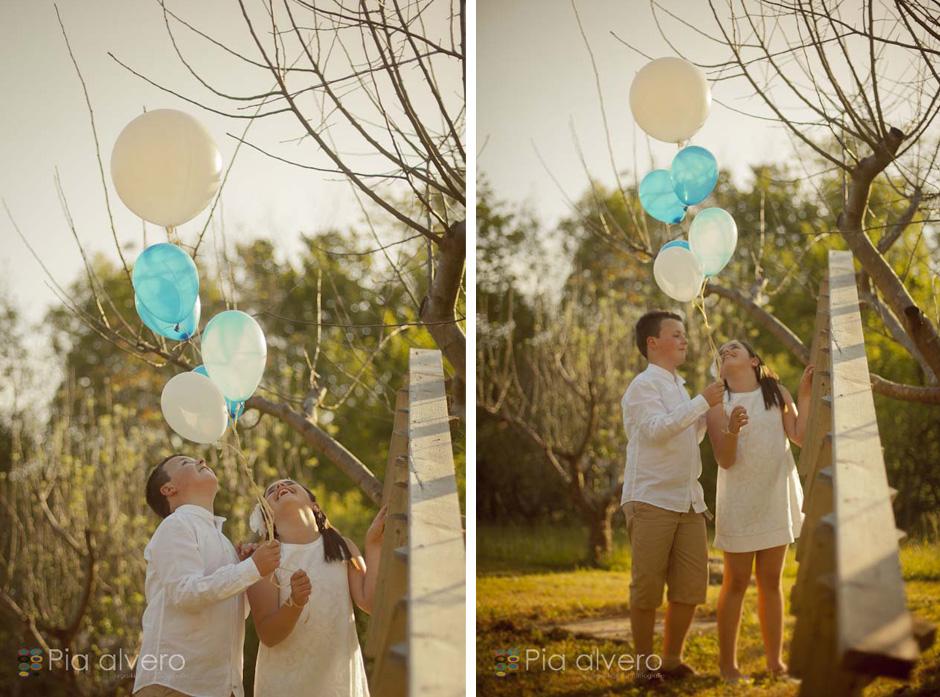piaalvero fotografía comunión con globos