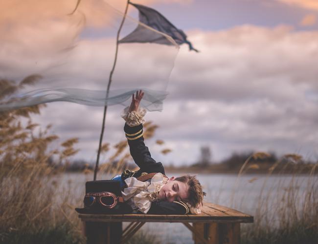 Fotografía Mágica Pía Alvero Peter Pan