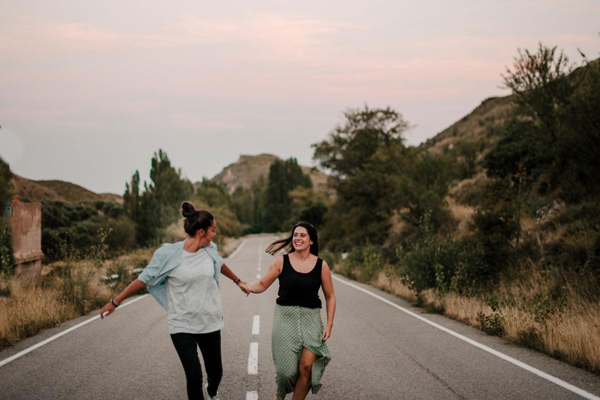 Reportajes parejas bonitas Navarra
