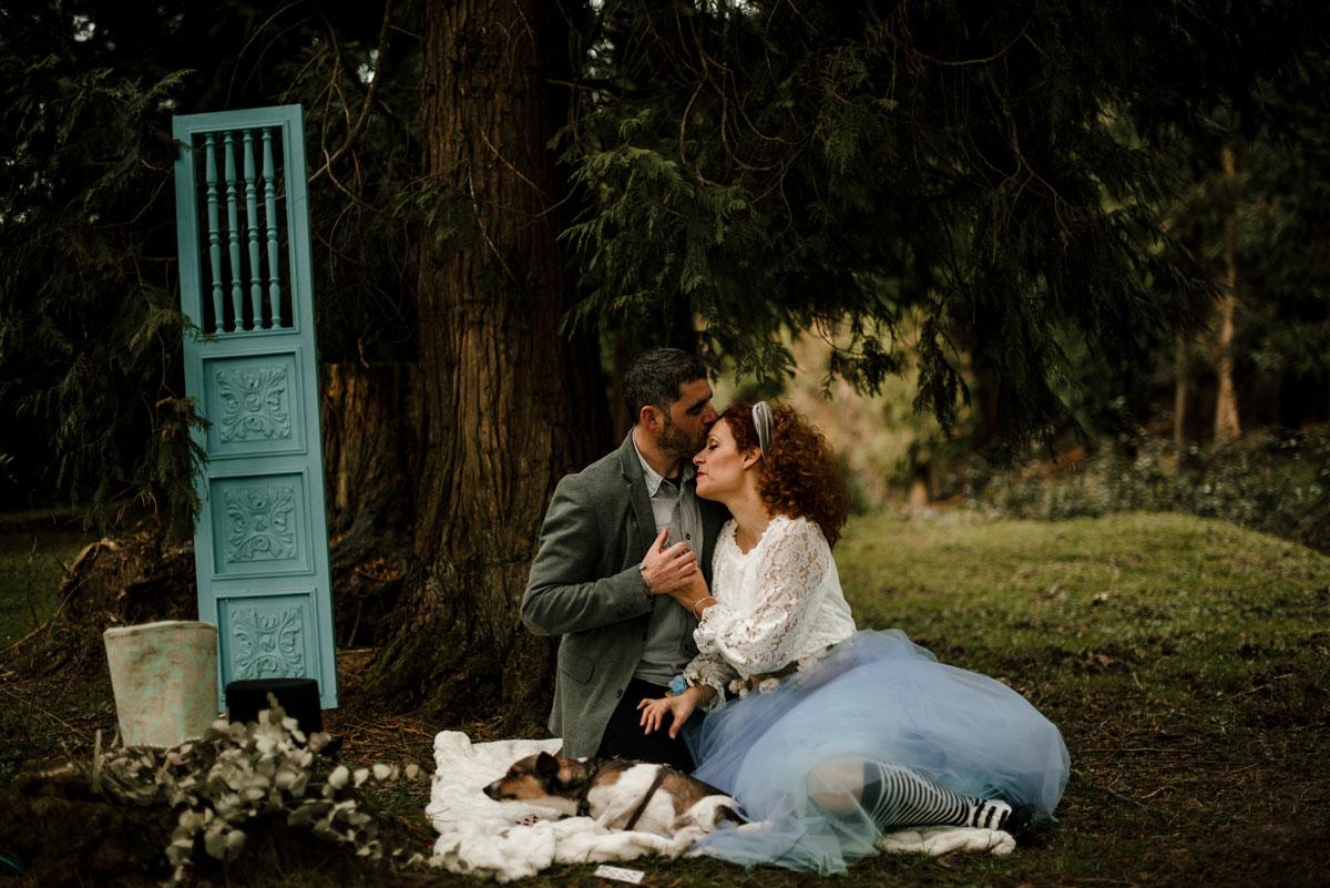 Reportajes mágicos para parejas en Euskadi - Pía alvero